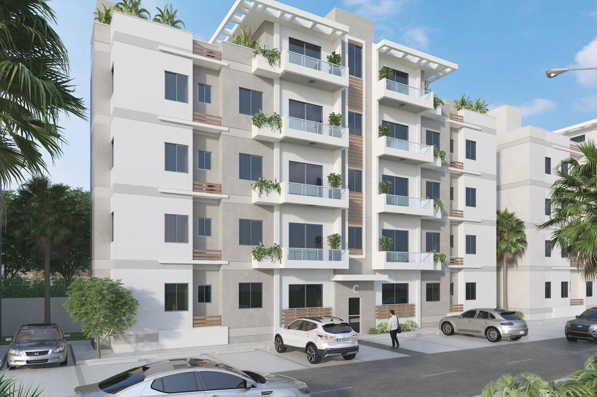 Apartamento en venta en el corazón de la Avenida Independencia de 3 habitaciones, 2 parqueos y 2.5 baños en RD$ 4,590,000 RD$4,590,000