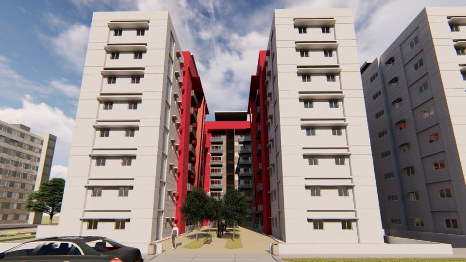 Proyecto de apartamentos tipo PH en venta de 3 habitaciones de 243 metros en el sector Ensanche La Fe desde 109,950usd 0