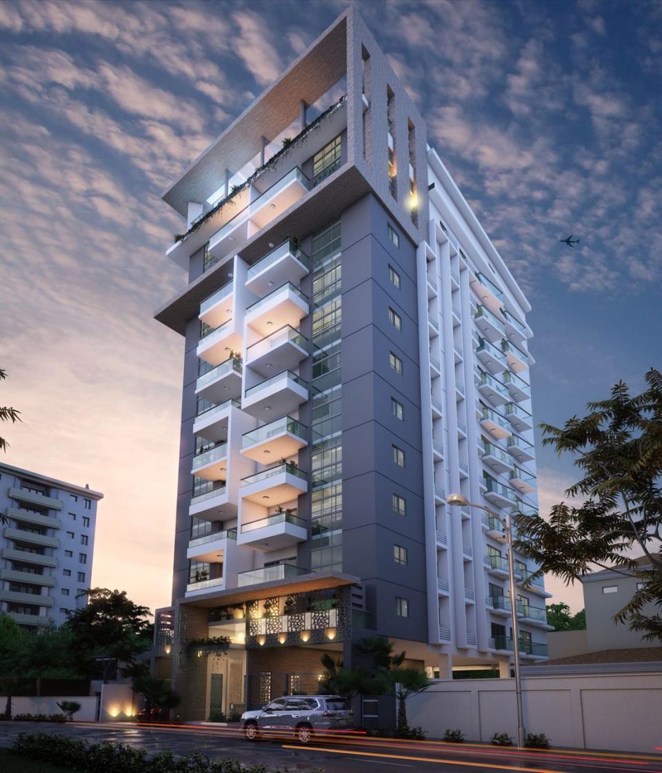 Apartamentos en construcción en ENSANCHE SERRALLES desde US$ 108,500.00 0